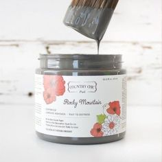 Country Chic Paint - Black and Greys — Two Old Souls Shades Of Black, Black And Grey, Different Types Of Painting, Paint Line, Piece Of Cakes, Hemp Oil, Color Card, Country Chic, Vintage Pink