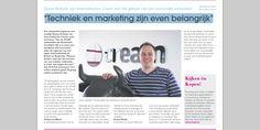 """Voor wie het artikel even snel wilt lezen """"Techniek en marketing zijn even belangrijk"""". Webwinkel tips!"""
