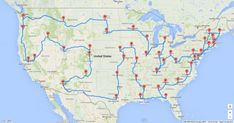 This Man Planned the Most Efficient U.S. Road Trip of All Time - 48 U.S. state capitols in 8 1/2 days