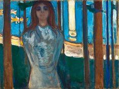 Le Prince Lointain: Edvard Munch (1863-1944), La Voix, Nuit d'Eté – 18...