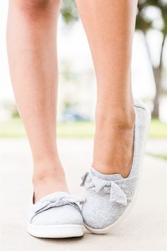 Add these adorable sneaker flats to your shoe collection for a cute and comfy style that is perfect for everyday wear! They are available in blue denim, black denim, and in grey that is made of linen fabric.