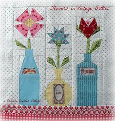 Charise Creates: Flowers in Vintage Bottles