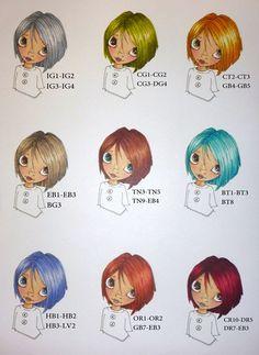 Hair colouring tutorials