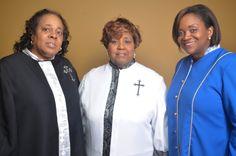 Dr. Paris Davis, Pastor Joyce Calvin and Dr. Pam Ross 2015 Conference Keynote Speakers