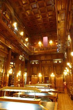 Interior biblioteca del Congreso de la Nación Argentina - Palacio del Congreso de la Nación Argentina -