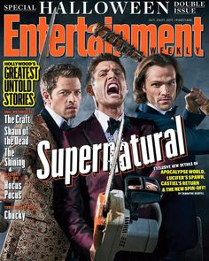 "170.5k Likes, 2,122 Comments - Misha Collins (@misha) on Instagram: ""#Supernatural Season 13 is coming... with some big changes. As our @entertainmentweekly cover…"""