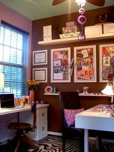 "an ""oh my"" craft room"