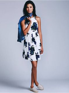 Free People Flutterby Mini Dress, $128.00