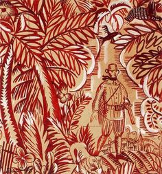 The Hunt (Design for fabric) - Raoul Dufy