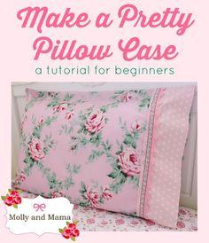 Pretty pillowcases tutorial