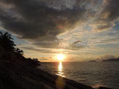 Nha-pekanga: Por-do-Sol de Ilhabela - Praia da Feiticeira II