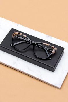 f7ef5eea5ab1 BonLook cateye glasses Dolled Up in Ebony Granite colour. Sunglasses Women