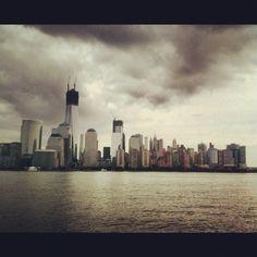 Jersey City, NJ  Lower Manhattan as seen from Jersey City.