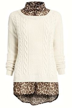 Buy Cable Shirt Layer Sweater from the Next UK online shop
