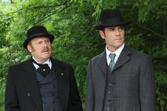 Murdoch Mysteries - Yannick Bisson Totally hooked on this series.
