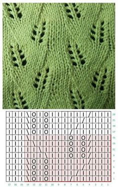 Lace knitting Lace knitting Pin: 419 x 665 Lace Knitting Stitches, Lace Knitting Patterns, Knitting Charts, Lace Patterns, Knitting Socks, Stitch Patterns, Baby Knitting, Gilet Crochet, Knit Crochet