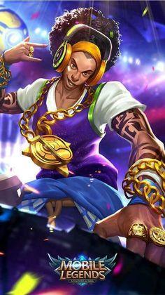 Wallpaper Bruno Mobile Legends - Bruno The Best DJ Bruno Mobile Legends, Miya Mobile Legends, Hp Mobile, Best Mobile, Mobile Legend Wallpaper, Hero Wallpaper, Alucard Mobile Legends, Moba Legends, The Legend Of Heroes