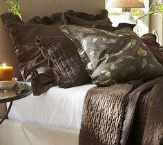 Rustic Luxe™ Bedding - Espresso #potterybarn