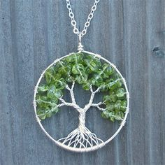 How to make a tree of life pendant - Watch video here: http://dailycraftvideos.com/2012/03/05/tree-of-life-pendant/