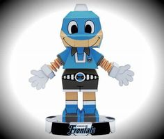 PAPERMAU: San Rofuto Mascot Paper Toy - by Kawasaki Frontale Football Club