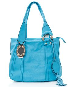 Blue on Blue Jenna Hobo | Awesome Selection of Chic Fashion Jewelry | Emma Stine Limited