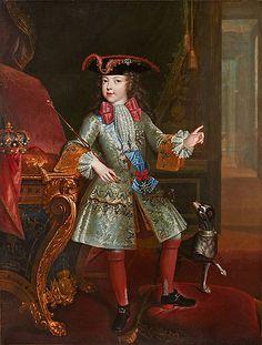 International Portrait Gallery: Retrato del Rey Luis XV de Francia