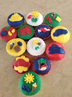 Summer holidays cup cakes!