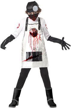 Open Heart Surgeon Child Costume #Halloween #costumes