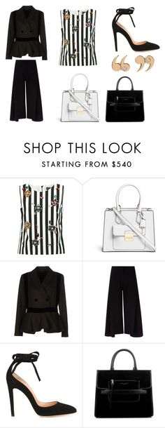 """""""DON'T YOU REMEMBER"""" by laura-melissa-cortes on Polyvore featuring moda, Dolce&Gabbana, Michael Kors, Emporio Armani, Victoria, Victoria Beckham, Gianvito Rossi, Marc Jacobs y Love Is"""