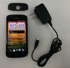 Fair Condition HTC One S - 16GB - Black (T-Mobile) **Ghost Image LCD**