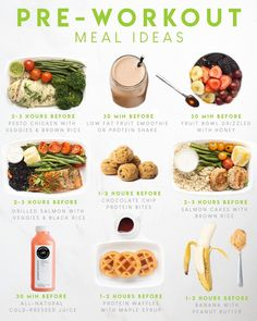 Pre Workout Meal, Best Pre Workout Food, Workout Meals, Post Workout Food, Healthy Gourmet, Gourmet Recipes, Healthy Eating, Healthy Recipes, Meal Prep Plans