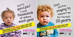The nyc teen pregnancy campaign in context - the lamp Parenting Teens, Parenting Hacks, Teen Mom, Daughter Quotes, Advertising Campaign, Quotes For Kids, Good Job, Mom Humor, Funny Kids