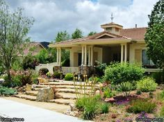 Courtesy photo - A drought tolerant landscape after lawn removal