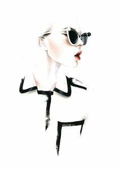 Chanel S/S 2013 illustration by Antonio Soares
