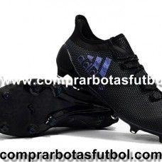 promo code 71b0f 933c0 2017 Botas De Futbol Adidas X 17.1 Purespeed FG Negro Violeta