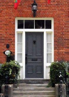 Georgian Door, Dublin, Ireland. For the brass door furniture click ...
