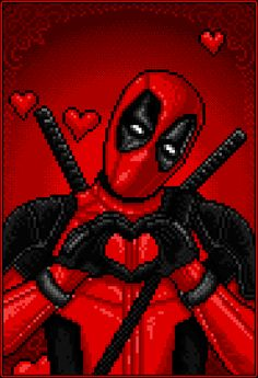 "#Deadpool #Fan #Gif. (HAPPY VALENTINES DAY! ) By: ❤ Deadpool ❤ (THE * 5 * STÅR * ÅWARD * OF: * AW YEAH, IT'S MAJOR ÅWESOMENESS!!!™)[THANK U 4 PINNING!!!<·><]<©>ÅÅÅ+(OB4E)(To watch Deadpools Romantic Trailer, Simply tap ""URL"" below: https://m.youtube.com/watch?v=YkqLL1m-v0k WÅRNING!!! It made me cry ;-_(    https://s-media-cache-ak0.pinimg.com/originals/27/7f/4a/277f4a274a6c7d9948c13858cc96588a.gif"