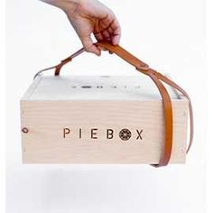 Leather Carrying Strap For Piebox By Piebox