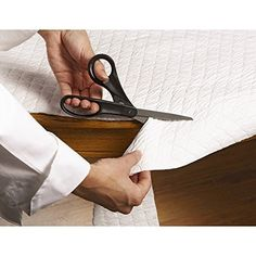 Buy Hotel Deluxe Inch X Inch Oblong Vinyl Table Pad In Ivory - Oblong table pad