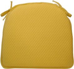 Charmant Amazon.com: Klear Vu Water And Fade Resistant Reversible Chairpad, Diamond  Yellow: Chair PadsSimsHome ...