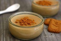 Crème dessert aux spéculoos pour bébé dès 8mois au lait de suite ou de croissance. #bébé #recettebébé #diversification