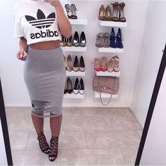 Denise Melissa @denisemelissa_ Ripped skirt soon...Instagram photo | Websta (Webstagram)