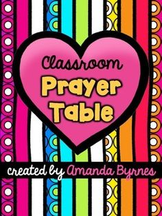 FREE Classroom Prayer Table Resources and Ideas by Amanda Byrnes Catholic Schools Week, Catholic Kids, Christian Classroom, Christian School, Religious Studies, Religious Education, Classroom Prayer, Teaching Religion, Space Classroom