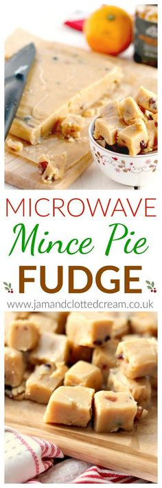 I love all the recipes on this site. check out the sl… Microwave Mince Pie Fudge. I love all the recipes on this site. check out the slow cooker cabbage for xmas toooooo Christmas Fudge, Christmas Desserts, Christmas Hamper, Christmas Ideas, Christmas Candy, Christmas Foods, Xmas Food, Christmas Cooking, Microwave Recipes