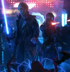 Luke Skywalker - Jedi Knight. 'Shadows of the Empire'.