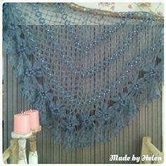 FlowerPower Sjaal  Made by Helen