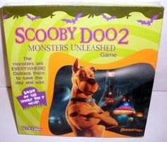 Pressman Warner Bros Scooby Doo 2 Monsters Unleashed Game Sealed #Pressman