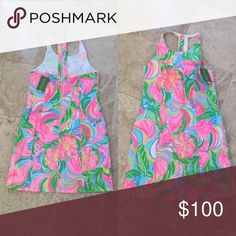 Lilly Pulitzer dress. Never been worn, tags still on. Lilly Pulitzer floral summer dress. Lilly Pulitzer Dresses