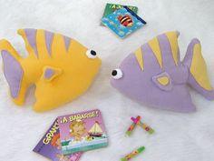 Con formas de peces