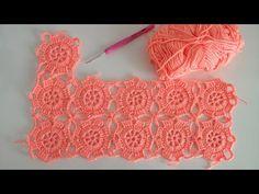 Crochet Blocks, Crochet Squares, Crochet Motif, Crochet Doilies, Crochet Lace, Crochet Stitches Patterns, Baby Knitting Patterns, Crochet Designs, Crochet Baby Jacket